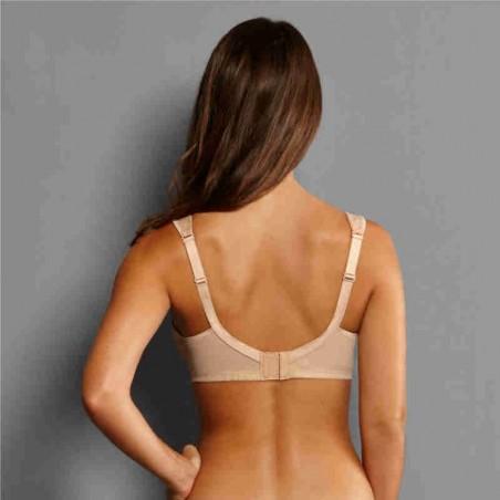 Soutien-gorge pour prothèse mammaire Clara par Anita Care - Coloris Désert - Dos