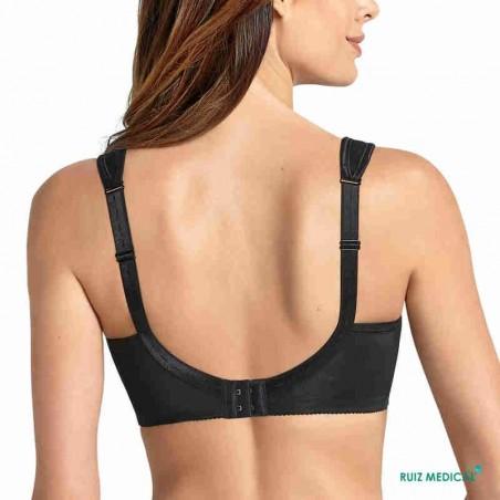 Soutien-gorge pour prothèse mammaire Safina 5349X par Anita Care - Coloris Noir - Dos
