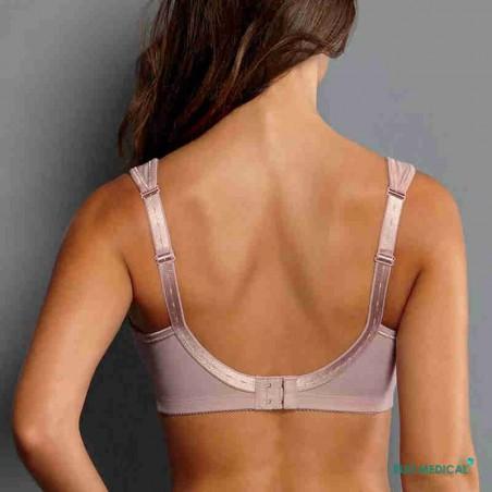Soutien-gorge pour prothèse mammaire Safina 5349X par Anita Care - Coloris Mellow Rose - Dos