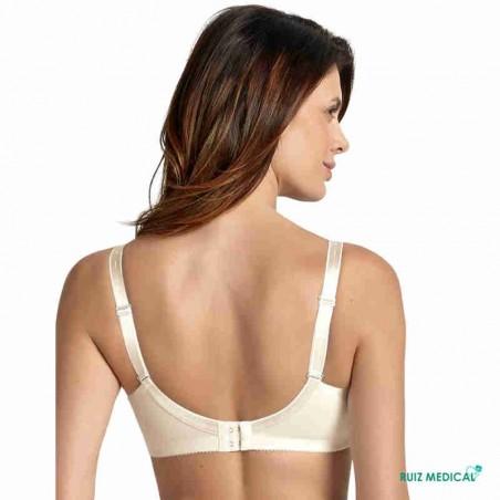 Soutien-gorge pour prothèse mammaire Safina 5749X par Anita Care - Coloris Crystal - Debout Dos