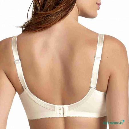 Soutien-gorge pour prothèse mammaire Safina 5749X par Anita Care - Coloris Crystal - Dos Zoom
