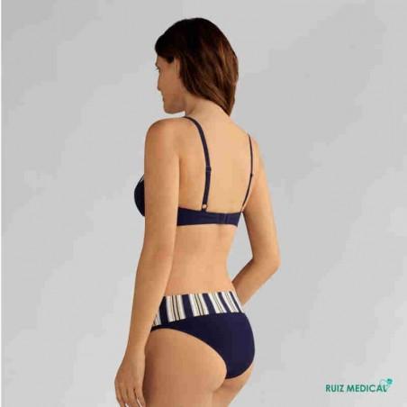 Maillot de bain pour prothèse mammaire Samos par Amoena - Vue de dos