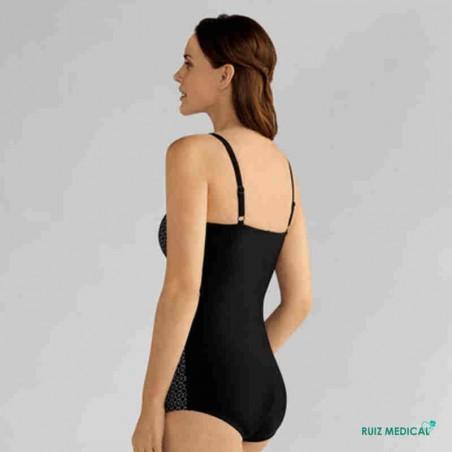 Maillot de bain pour prothèse mammaire Ayon par Amoena - Vue de dos